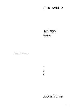 Minutes of the     Convention of the United Lutheran Church in America