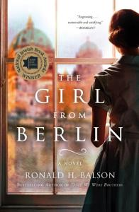 The Girl from Berlin Book