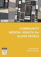 Community Mental Health for Older People PDF