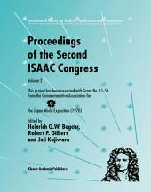 Proceedings of the Second ISAAC Congress: Volume 2: This project has been executed with Grant No. 11–56 from the Commemorative Association for the Japan World Exposition (1970)