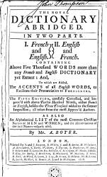 The Royal Dictionary Book PDF