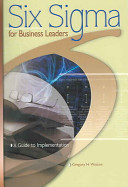 Six Sigma For Business Leaders Book PDF