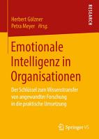 Emotionale Intelligenz in Organisationen PDF