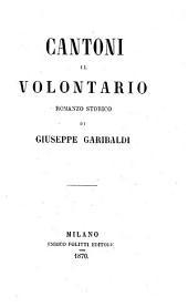 Cantoni il volontario: romanzo storico