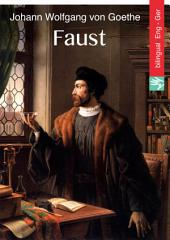 Faust (English German Edition illustrated): Faust (Englisch Deutsch Ausgabe illustriert)