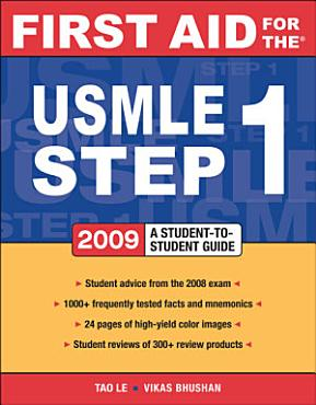 First Aid for the USMLE Step 1 2009 PDF