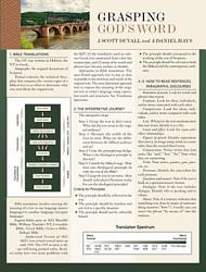 Grasping God's Word Sheet