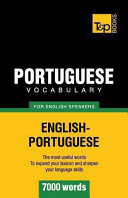 Portuguese Vocabulary for English Speakers   7000 Words PDF