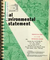US-50-301, MD-70 to Chesapeake Bay Bridge: Environmental Impact Statement