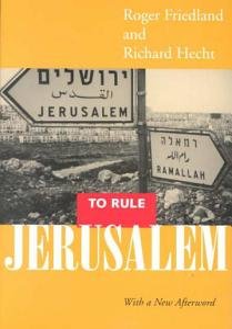 To Rule Jerusalem Book