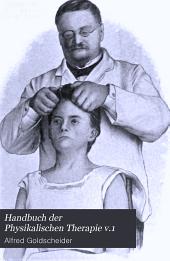 Handbuch der Physikalischen Therapie v.1: Band 1,Teil 2