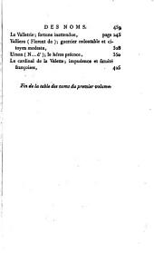 Choix d'anecdotes et faites mémorables; ou, Le valere-maxime françois: Volume1