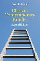 Class in Contemporary Britain PDF