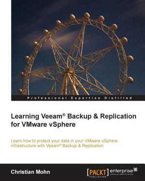 Learning Veeam   Backup   Replication for VMware vSphere