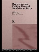 Democracy and Political Change in Sub Saharan Africa PDF