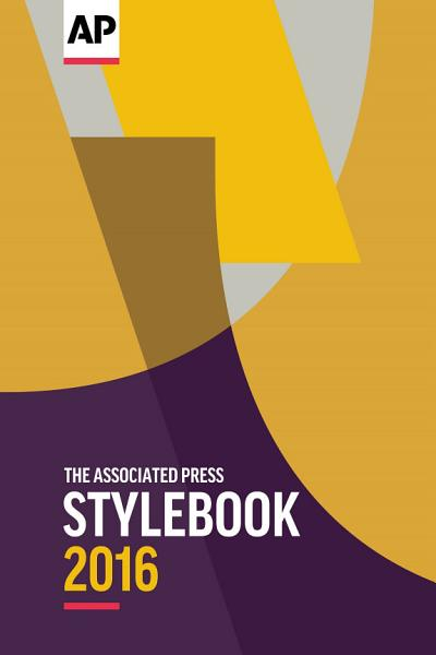 Download The Associated Press Stylebook 2016 Book