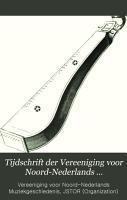 Tijdschrift der Vereeniging voor Noord Nederlands Muziekgeschiedenis PDF