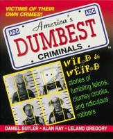 America s Dumbest Criminals PDF