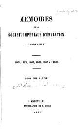 Mémoires de la Société impériale d'émulation d'Abbeville