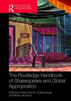 The Routledge Handbook of Shakespeare and Global Appropriation PDF