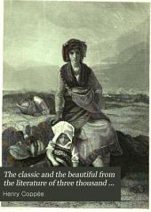The Classic and the Beautiful from the Literature of Three Thousand Years: Volume 4