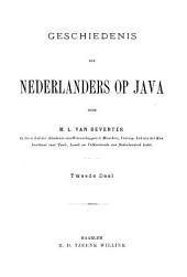 Geschiedenis der Nederlanders op Java: Deel 2