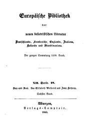Say and Seal oder Der Schulmeister von Pattaquasset: Von Elisabeth Wetherell und Amy Lothrop. Deutsch von A. Kretzschmar, Band 6