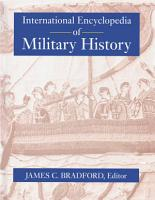 International Encyclopedia of Military History PDF