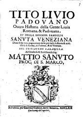 Tito Livio Padovano, overo historia della gente Livia