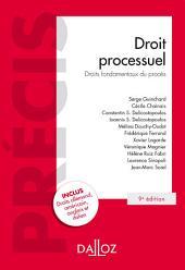 Droit processuel. Droits fondamentaux du procès
