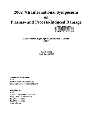 2002 7th International Symposium on Plasma  and Process Induced Damage
