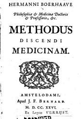 Methodus discendi medicinam