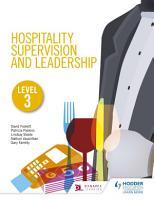 Hospitality Supervision and Leadership Level 3 PDF