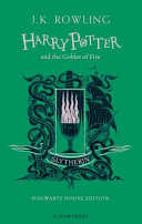 Harry Potter and the Goblet of Fire   Slytherin Edition Book