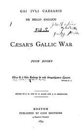A Vocabulary of Caesar's Gallic War