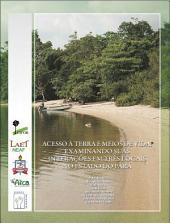Acesso à terra e meios de vida: examinando suas interações em três locais no estado do Pará