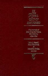 To the Royal Crown Restored: The Journals of Don Diego de Vargas, New Mexico, 1692-94