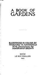 A Book of Gardens
