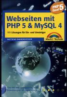 Webseiten mit PHP 5   MySQL 4 PDF