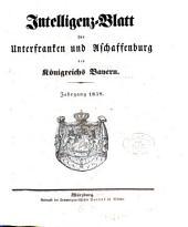 Intelligenzblatt von Unterfranken und Aschaffenburg des Königreichs Bayern: 1838, 2