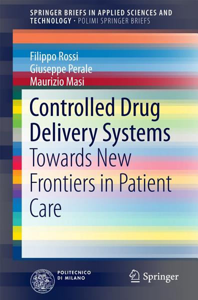 Controlled Drug Delivery Systems PDF