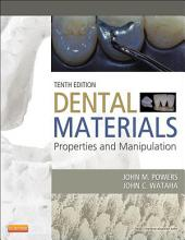 Dental Materials-: Properties and Manipulation, Edition 10