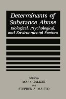 Determinants of Substance Abuse PDF
