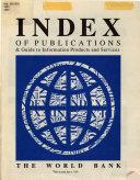Index of Publications PDF