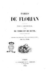 Fables de Florian illustrées pa J.-J. Grandville