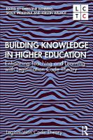 Building Knowledge in Higher Education PDF