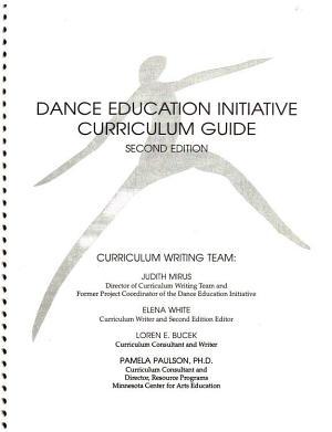 Dance Education Initiative Curriculum Guide