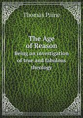 The Age of Reason: Volume 1