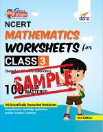 (FREE SAMPLE) Perfect Genius NCERT Mathematics Worksheets for Class 3 (based on Bloom's taxonomy) 2nd Edition