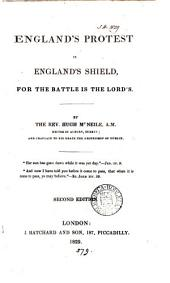 England's protest is England's shield: Volume 1